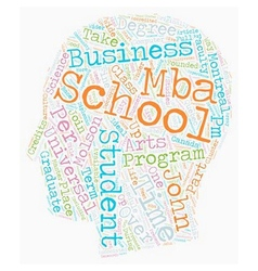 John molson school of business text background vector
