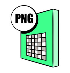 Png file icon cartoon vector