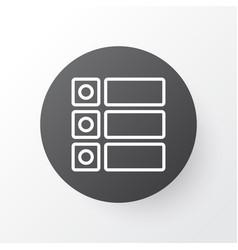 tasks icon symbol premium quality isolated vector image