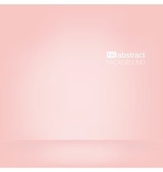 background pink empty room mock up vector image vector image