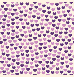 Heart background seamless pattern vector
