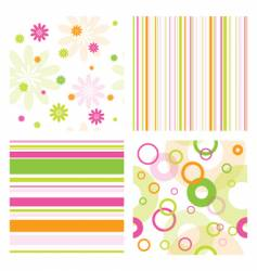 Pattern samples vector
