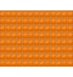 Orange tile seamless texture vector