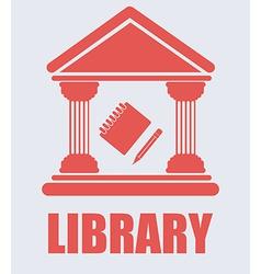 Library desing vector