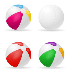 beach ball childrens toy stock vector image