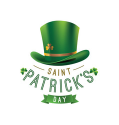 happy saint patricks day vector image