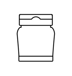 ketchup sauce bottle vector image vector image