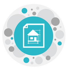 of construction symbol on home vector image