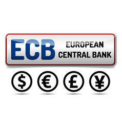 Ecb - european central bank vector