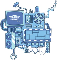 Machine 2 vector