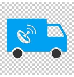 Remote control van eps icon vector