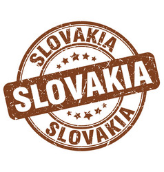 Slovakia stamp vector