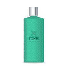 tonic natural series vector image