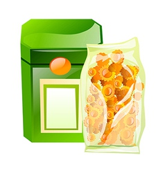 Icon snack vector