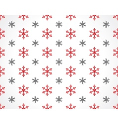snowflakes on white vector image