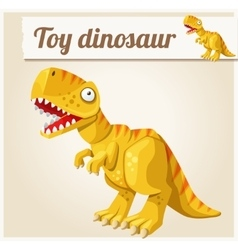 Toy dinosaur cartoon  series vector