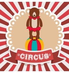 Spectacular circus show design vector