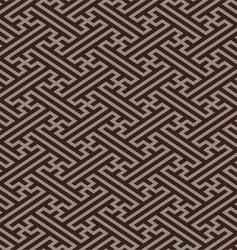 oriental linen pattern vector image vector image