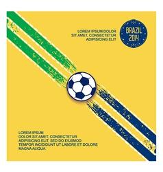 Sports design elements football vector