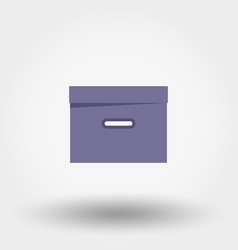 box organizer for files documents vector image