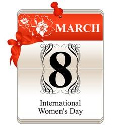 International womens day vector