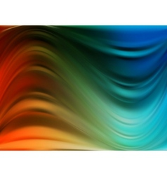 Colorful dynamic and luminous waves eps 8 vector