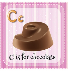 A letter c vector