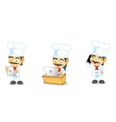 Chef 3 vector image vector image