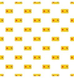 Joystick pattern cartoon style vector image vector image