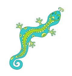 lizard pattern vector image