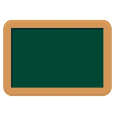 small chalkboard vector image