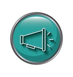 Speaker icon design vector