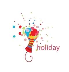 logo holiday vector image