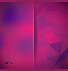 Abstract mosaic background pink purple violet vector