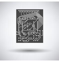 Circuit icon vector image vector image