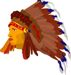 indian vector image vector image