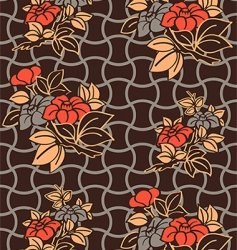 kimono wallpaper pattern vector image