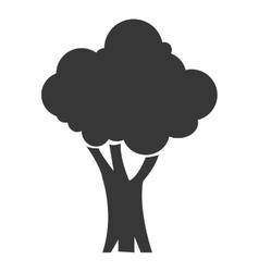 single tree icon vector image