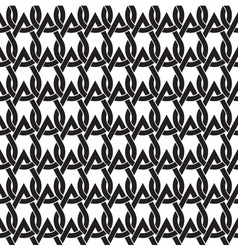 Chain mail of the links in form of drops Celtic vector image