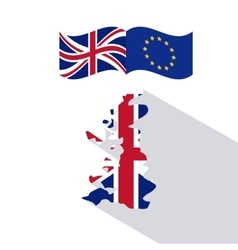 Brexit of the eruropean union design vector