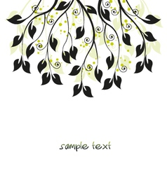 branches vector image