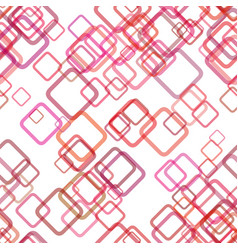 Seamless abstract geometric square background vector