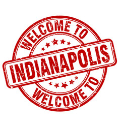Welcome to indianapolis vector