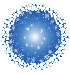 Winter Background vector image