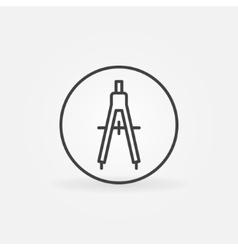 Compasses concept icon vector image