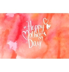 Mothers day hand lettering handmade calligraphy vector