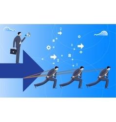 Boss business concept vector