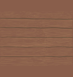 brown wooden background vector image vector image