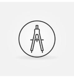 Compasses concept icon vector image vector image