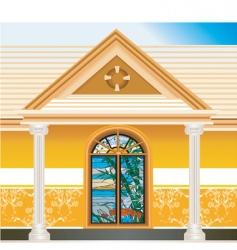 house or villa vector image vector image